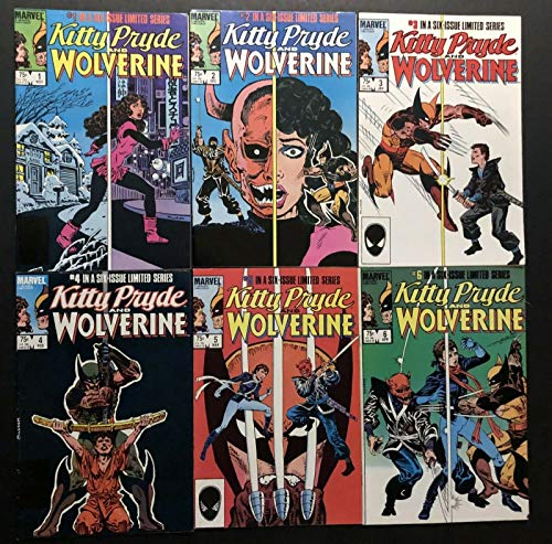 Kitty Pryde and Wolverine (1984) #1 2 3 4 5 6 VF- (7.5) complete set X-Men