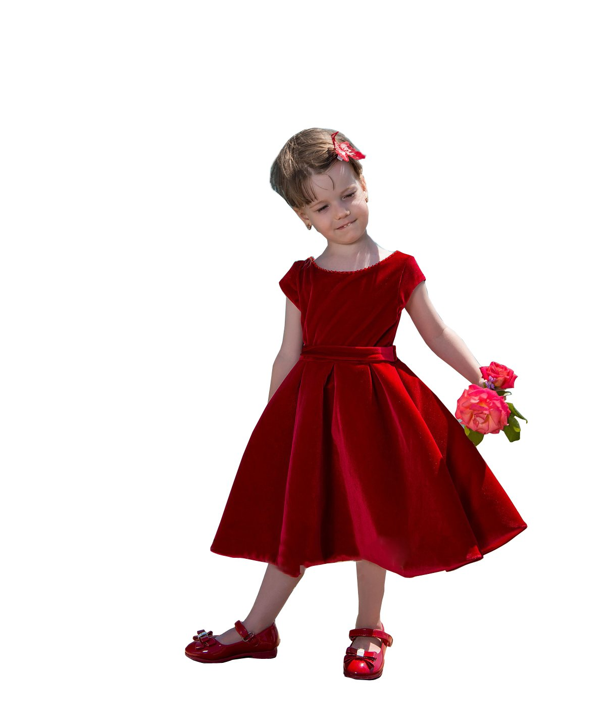 kelaixiang Baby Kids Girls Party Wedding Flower Gown Fancy Dress by Kelaixiang