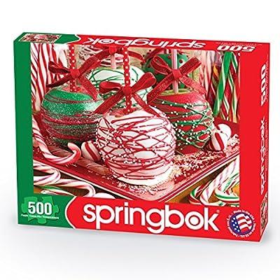 Springbok 500 Piece Jigsaw Puzzle Apple-icious!: Toys & Games