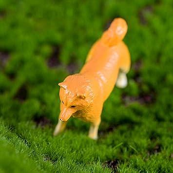 Amazon Com Figurines Miniatures 1pc Mini Yellow Dog Miniature