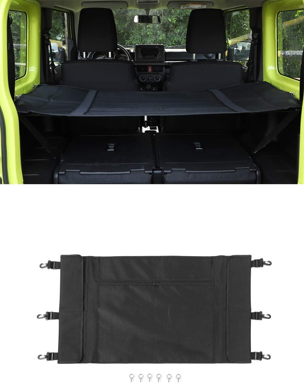 Vpcar Kofferraum Isolationsnetz Kofferraum Organizer Gepäcknetz Für Suzuki Jimny 2019 2020 Auto