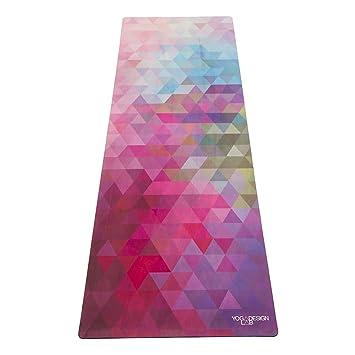 La Colchoneta de Yoga Combo. Version Viaje. Ligera, Antideslizante, Super Plegable.