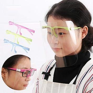 Czz Delantal Facial, Máscara del Chapoteo del Aceite del Plato De Cocinar De La Cocina