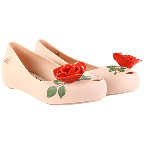 9bad8324a Melissa Kids Ultragirl 18 Beauty & The Beast Plastic Flat Pink Contrast-Pink-10:  Amazon.co.uk: Shoes & Bags