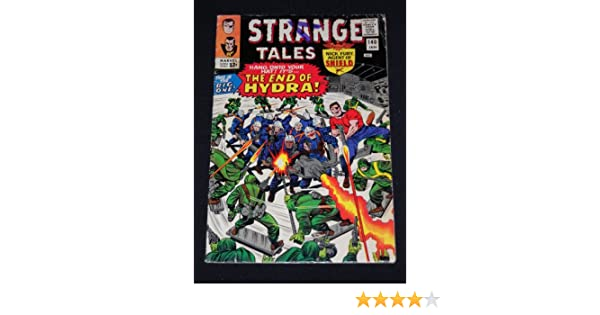 Strange Tales #140 Silver Age 1966 Marvel Comic Book