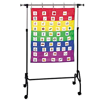 Amazon com learning resources adjustable chart stand classroom