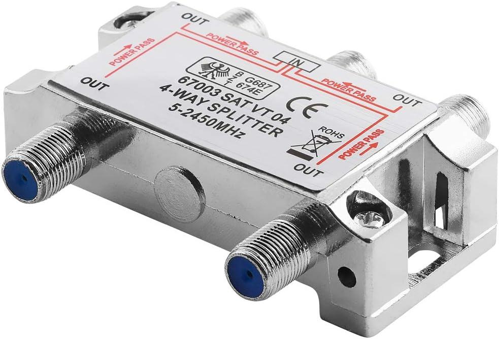 AVE-A distribuidor de antena para satélite LNB y cable 5 ...