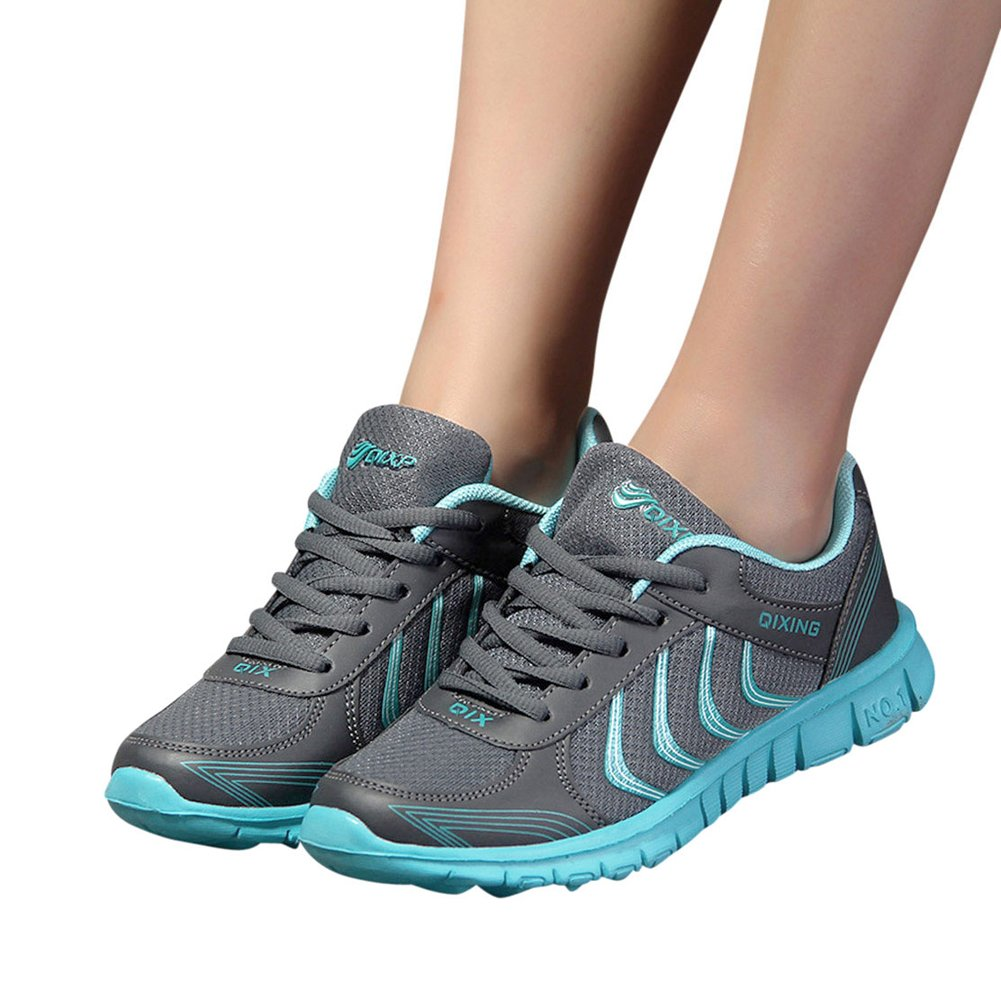 jiasha Women Running Shoes Lightweight Breathable Mesh Athletic Sneakers