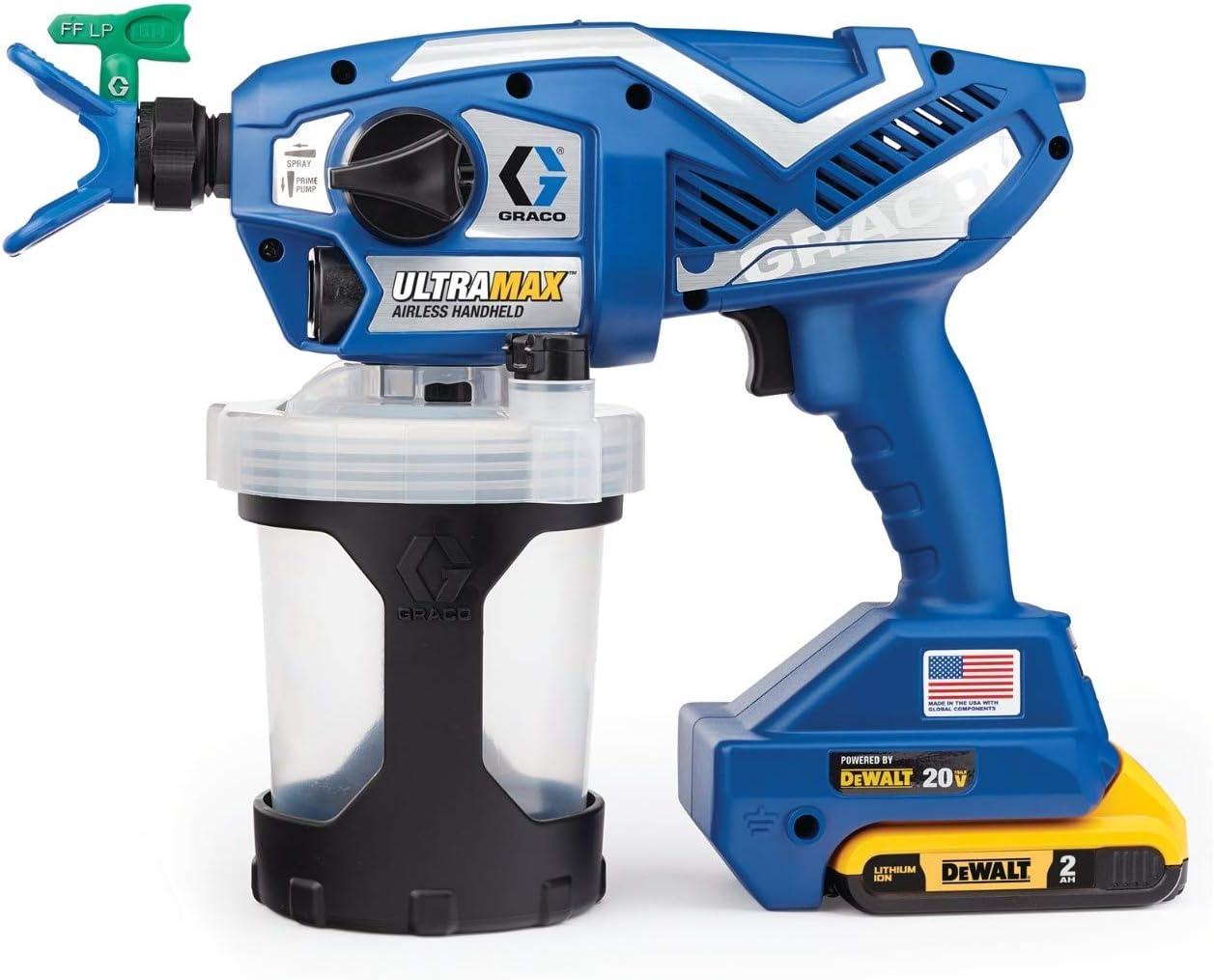 Graco Ultra Max Cordless Airless Handheld Paint Sprayer