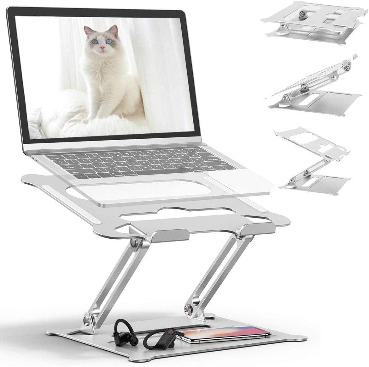 Laptop Table, Adjustable Great Laptop Bed Table, Portable Laptop Workstation Notebook Stand Reading Holder,Ergonomic Lap Desk TV Bed Tray Standing Desk