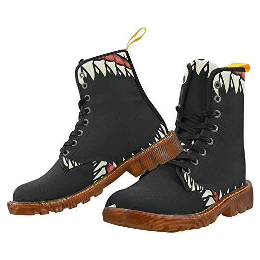Shoes Shark Lace Up Martin Boots For Women