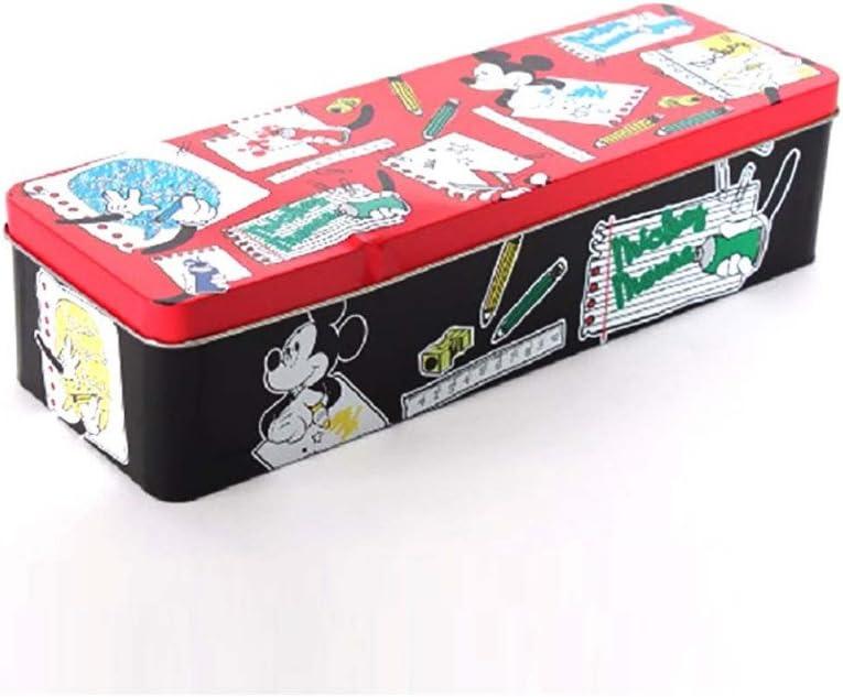 Home Line Caja metal para material escolar Mickey Mouse (30x10x7): Amazon.es: Hogar
