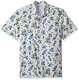 Columbia Men's Trollers Best Short Sleeve Shirt, Sunlit Fish Ahoy Print, XX-Large For Sale