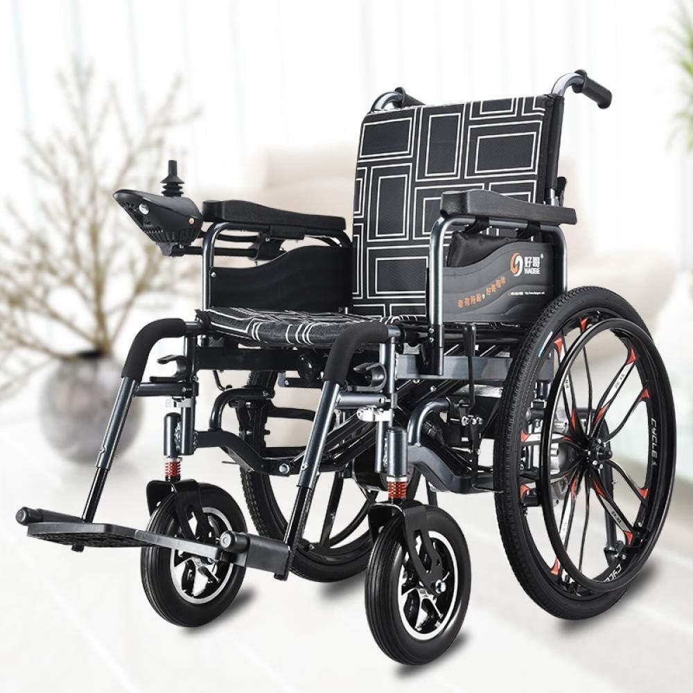 TYT Patinete eléctrico para ancianos con silla de ruedas, andador ligero plegable, patinete inteligente para el hogar para discapacitados, patinete con batería de litio,Rueda grande Comfort Hg660