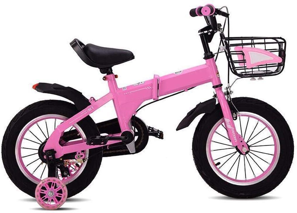 lquide Niños Bicicleta Niño Niña 3-4-5-6-7 años Bicicleta de ...