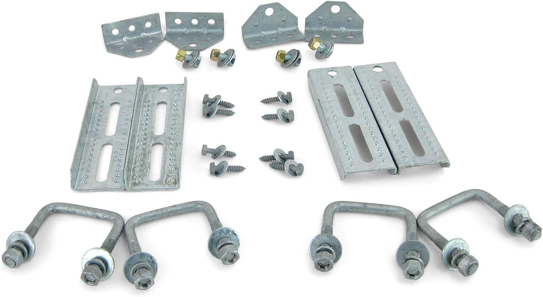 "Tie Down Engineering 81230 12-5//8/"" Galvanized Bunk Bracket 2 pk 11057"