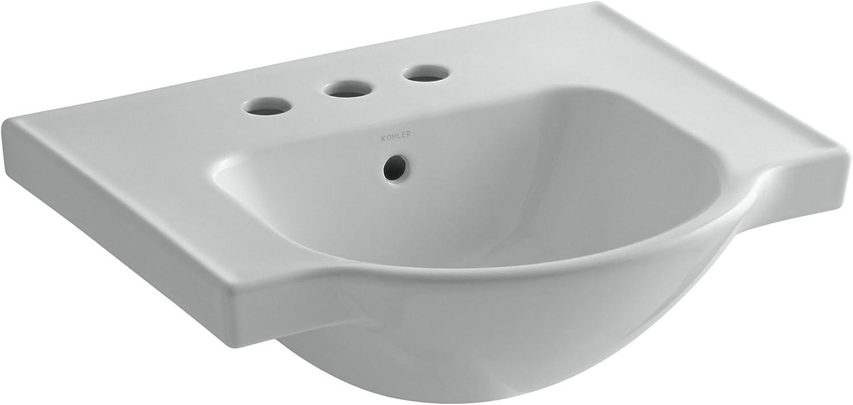 KOHLER K-5247-4-33 Veer Centerset Sink Basin Mexican Sand 21-Inch