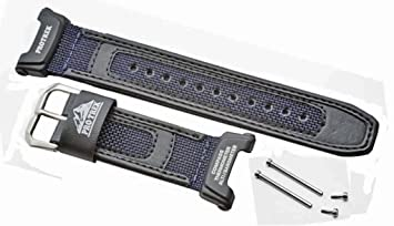 71f73a948 Amazon.com: Casio PRG-40 / PRG-240 Black resin replacement watch ...