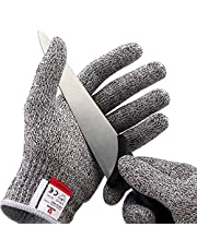NoCry Cut Resistant Gloves - High Performance Level 5 Protection, Food Grade. Free Ebook Included!