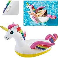 Intex Unicorn Pool Floater, Multi-Colour, 57561