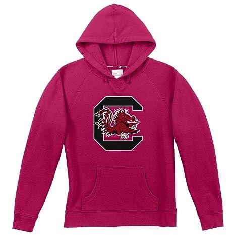 Elite Fan Shop South Carolina Gamecocks Womens Hoodie Pink - S - Raspberry 5fd9d1509e