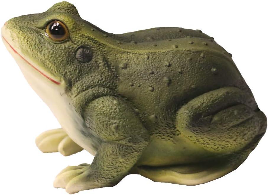 Nature's Rhythm Frog Outdoor Decor Garden Statue Indoor Outdoor Decoration