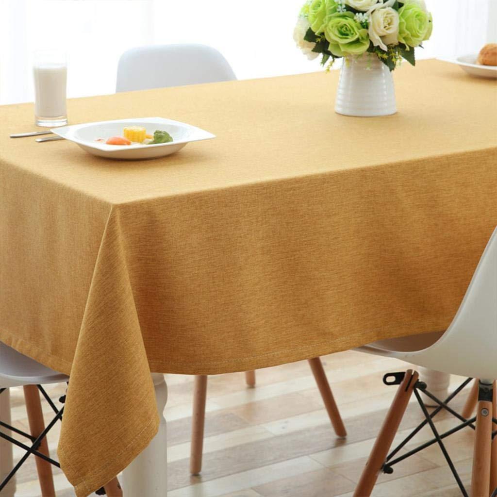 mas preferencial G WENYAO Solid Color SimpTabcloth,Fluid Systems Waterproof Tea tabcloth,Tablecloths tabcloth,Tablecloths tabcloth,Tablecloths for rectangtables B 135x135cm(53x53inch) 110x160cm(43x63inch)  Tu satisfacción es nuestro objetivo