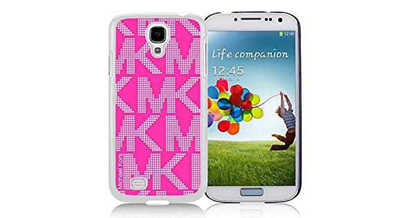 Amazon.com: Michael Kors 5 White Case for Samsung Galaxy S4 ...