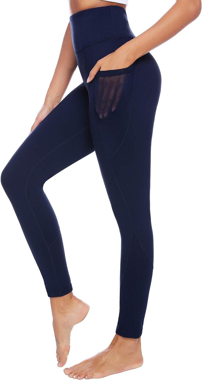 iClosam Pantaloni Sportivi Da Donna Leggings Stampati Elastici Traspiranti Yoga Gym