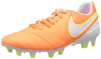 best loved 97ff6 17711 Amazon.com: Nike Tiempo Legacy 2 FG Tart/White/Volt/Hyper ...