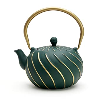 Toptier 650ml Cast Iron Japanese Teapot