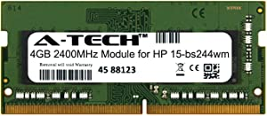 A-Tech 4GB Module for HP 15-bs244wm Laptop & Notebook Compatible DDR4 2400Mhz Memory Ram (ATMS378334A25824X1)