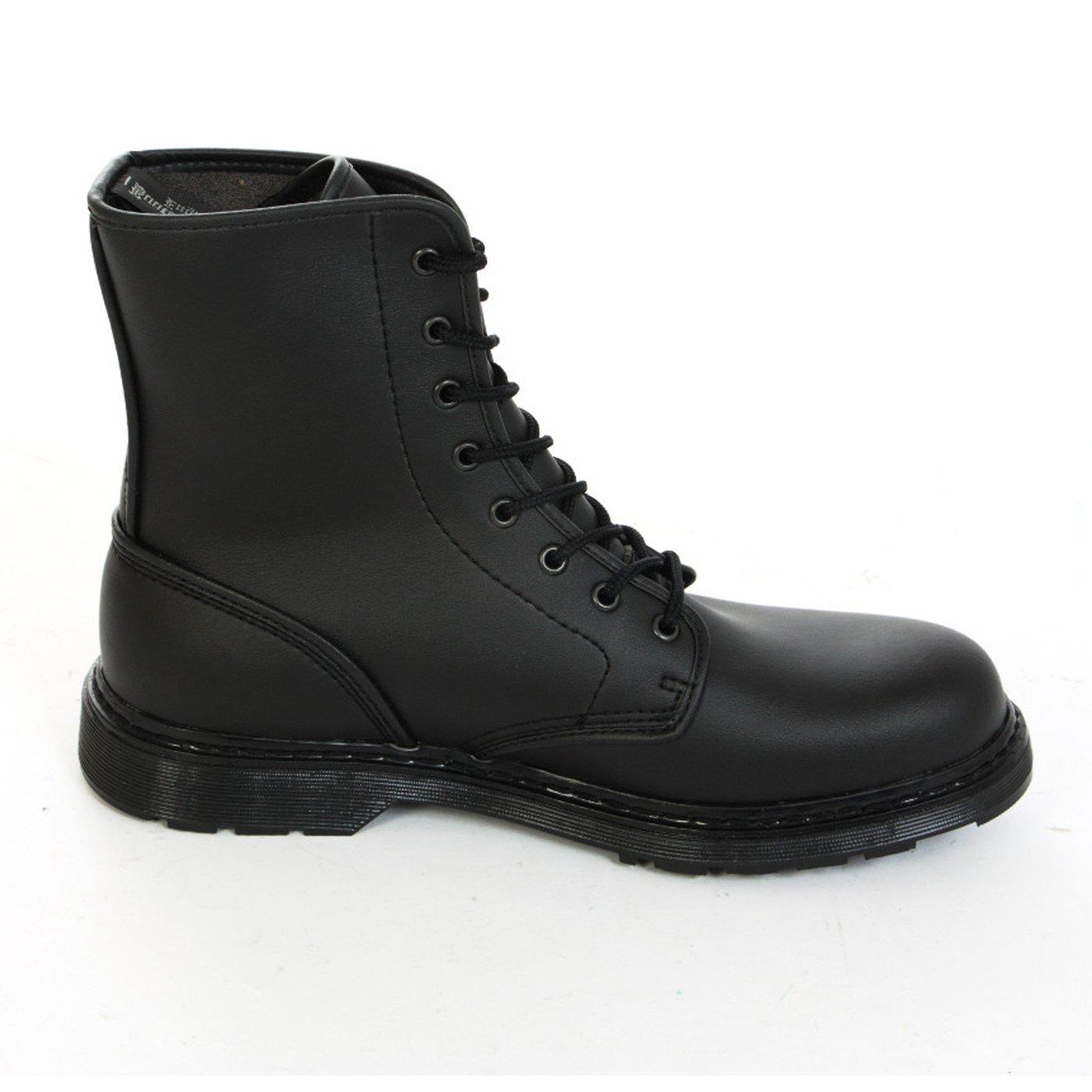 Stiefel & Braces - Easy 8 Schwarz Loch Vegetarian schwarz Stiefel Rangers Schwarz 8 schwarz On schwarz d42fa8