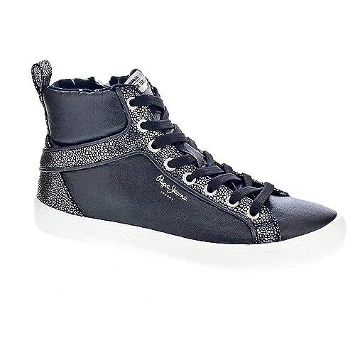 Pepe Jeans Stark Moon - Zapatillas Bota Mujer: Amazon.es: Zapatos y complementos
