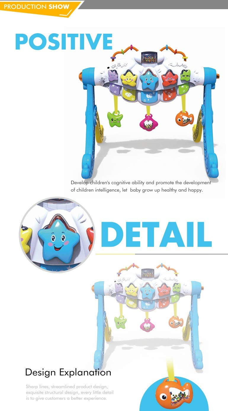 Power Educational Game Activity Gym Baby Fitness Toys with Hanging Toys