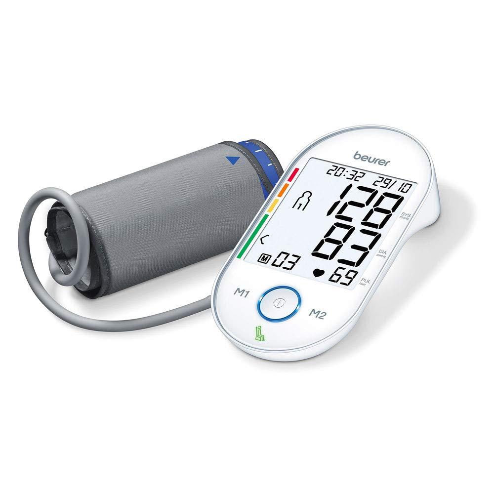 Beurer BM 55 - Tensiómetro de brazo (incluye 3 meses de acceso a la aplicación de meditación): Amazon.es: Salud y cuidado personal