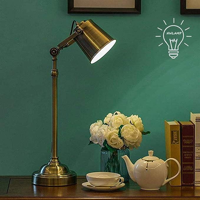 Lámparas de escritorio LED E27 moderna minimalista lámpara de mesa ...