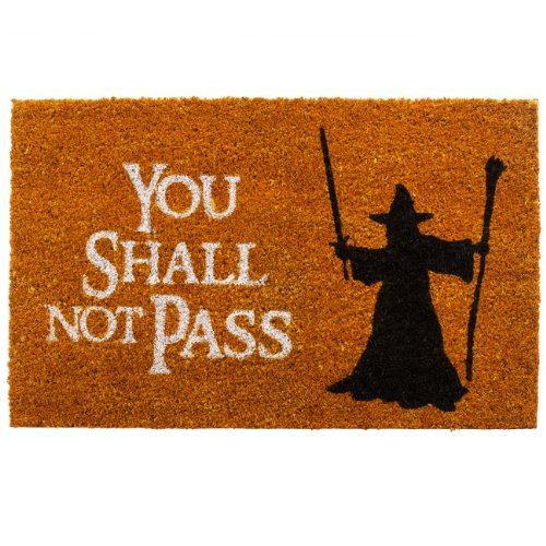 getDigital Doormat You shall not pass | Carpet Entrance Rug...