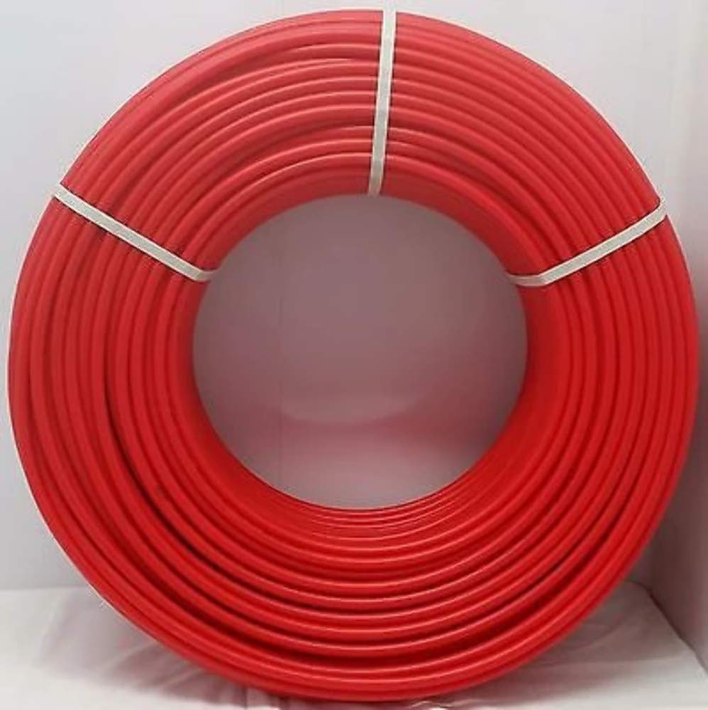 3/8'' - 1000' Coil - RED Certified Non-Barrier PEX Tubing Htg/Plbg/Potable Water by Badgerpipe