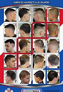 Amazon.com: 01YM Men & Boys Hairstyle Guide Barber Poster 36 ...