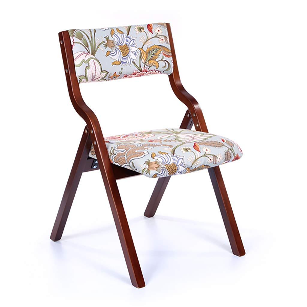 椅子 ダイニングチェア、カジュアルな大人のカジュアルな大人の家庭用折りたたみ式の家庭用ノルディックデスクチェアーバックチェアー、6色 (色 : D) B07L77TPFW D D