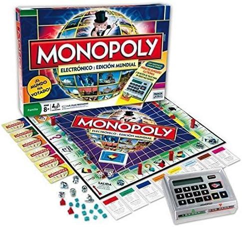 Hasbro Monopoly Electronico: Edicion Mundial 98887500 - Juegos en familia con Operación Viaje y Quién Es Quién Viaje: Amazon.es: Juguetes y juegos