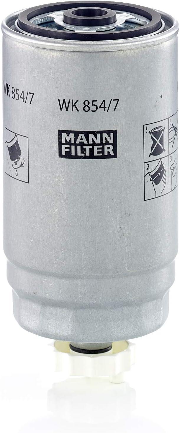 Original MANN-FILTER Filtro de Combustible WK 854/7 – Para automóviles