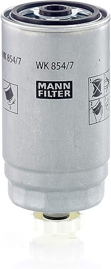 Original Mann Filter Kraftstofffilter Wk 854 7 Für Pkw Auto