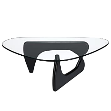 Isamu Noguchi coffee table Black Finish Base: Amazon.ca: Home & Kitchen