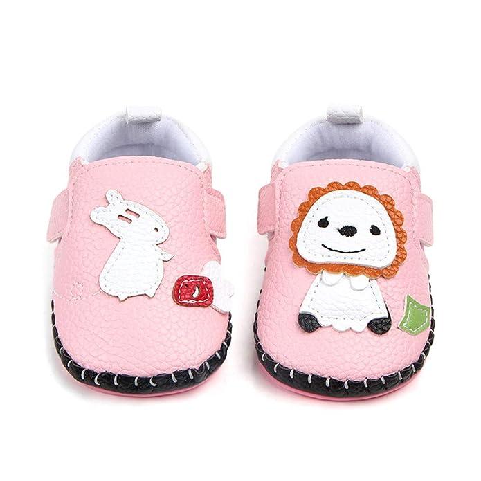 Amazon.com: Infant Baby Boys Girls Lion Anti-slip Sneaker First ...