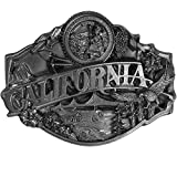California Antiqued Belt Buckle