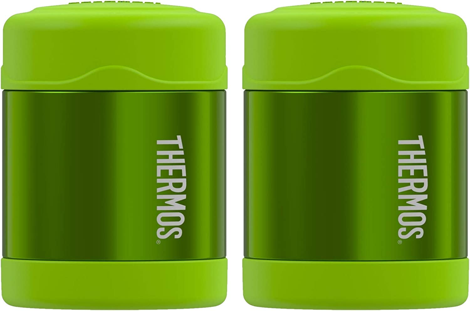 Thermos Funtainer 10 Ounce Food Jar - Lime Green 2PK