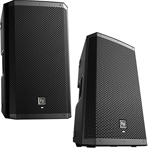 EV Electro-Voice ZLX12P Powered Active 2-way PA Speakers PAIR ZLX 12P NEW (Pair Small Speakers Powered)