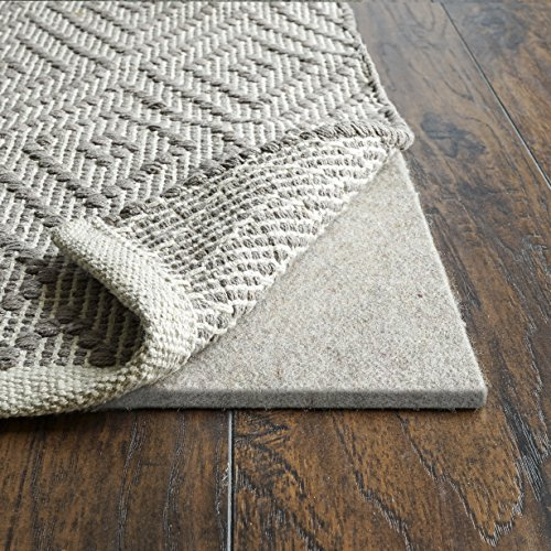 Eco Friendly Rug Pads - Rug Pad Central RPC38F-912, Premium 3/8 Felt Rug Pad for Hardwood Floors, 9'x12'